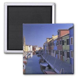 Europe, Italy, Venice, Murano Island, Colorful Magnet
