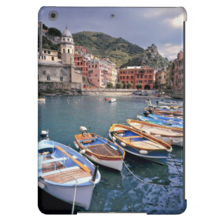 Europe, Italy, Vernazza. Brightly painted boats iPad Air Cases