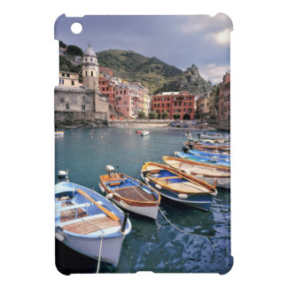 Europe, Italy, Vernazza. Brightly painted boats iPad Mini Cover