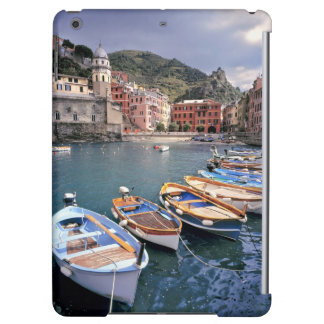 Europe, Italy, Vernazza. Brightly painted boats Cover For iPad Air