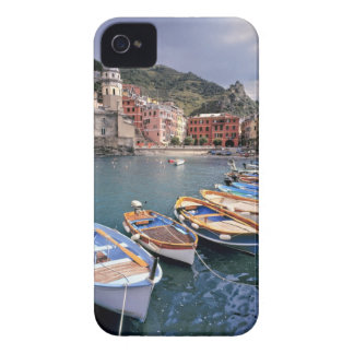 Europe, Italy, Vernazza. Brightly painted boats iPhone 4 Cover