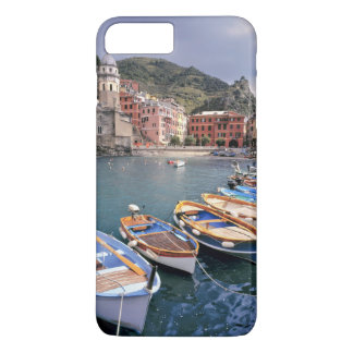 Europe, Italy, Vernazza. Brightly painted boats iPhone 7 Plus Case