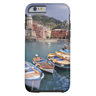 Europe, Italy, Vernazza. Brightly painted boats Tough iPhone 6 Case