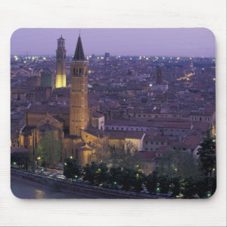 Europe, Italy, Verona, View from the Castel S. Mouse Pad
