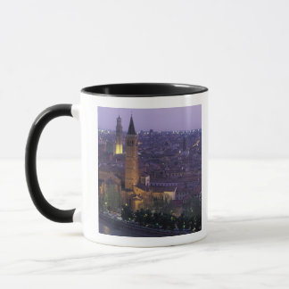 Europe, Italy, Verona, View from the Castel S. Mug