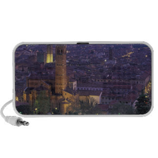 Europe, Italy, Verona, View from the Castel S. iPhone Speaker