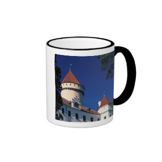 Europe, Konopiste Castle, Czech Republic, statue Ringer Coffee Mug