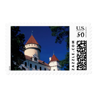 Europe, Konopiste Castle, Czech Republic, statue Postage