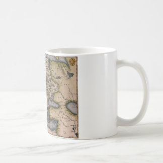 Europe Map 1572 Coffee Mug