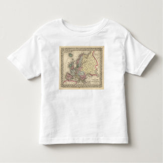 Europe Map by Mitchell Toddler T-shirt