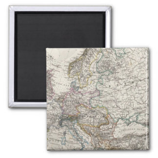 Europe Map by Stieler Magnet