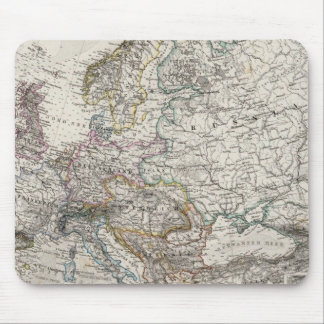 Europe Map by Stieler Mouse Pad