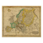 Europe  Map by Worcester Print