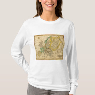 Europe  Map by Worcester T-Shirt