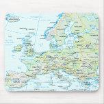 Europe Map Mousepad