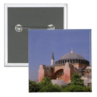 Europe, Middle East, Turkey, Istanbul. Aya Pinback Button