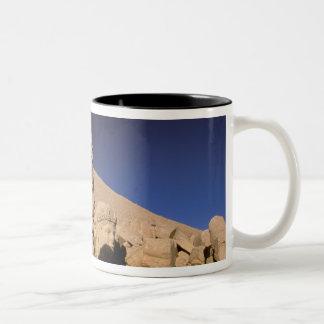 Europe, Middle East, Turkey, Nemrut Dagi Kahta Two-Tone Coffee Mug