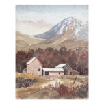 Europe Mountain Scene Print