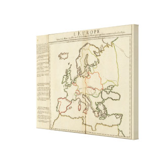 Europe, Mountains and Rivers Canvas Prints