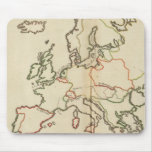 Europe, Mountains and Rivers Mouse Pad