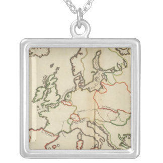 Europe, Mountains and Rivers Pendants