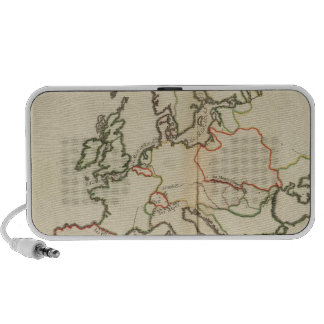 Europe, Mountains and Rivers Portable Speakers