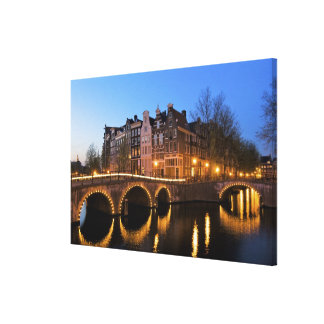 Europe, Netherlands, Holland, Amsterdam, Stretched Canvas Prints