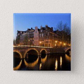 Europe, Netherlands, Holland, Amsterdam, Pinback Button