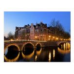 Europe, Netherlands, Holland, Amsterdam, Postcard