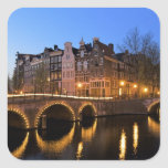 Europe, Netherlands, Holland, Amsterdam, Square Sticker