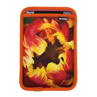 Europe, Netherlands, Lisse. Parrot tulip iPad Mini Sleeve