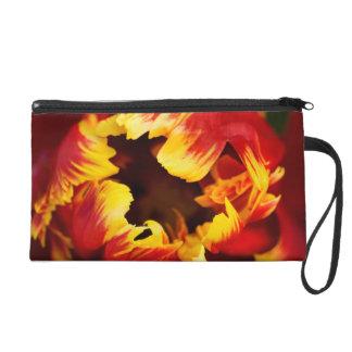 Europe, Netherlands, Lisse. Parrot tulip Wristlet Purse