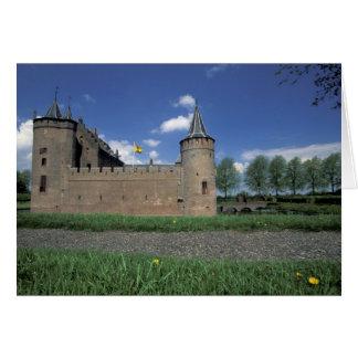 Europe, Netherlands, Muiden Muiden Castle Card