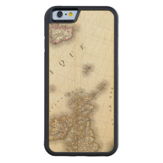 Europe Northwest Carved Maple iPhone 6 Bumper Case