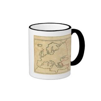 Europe Outline 2 Coffee Mugs