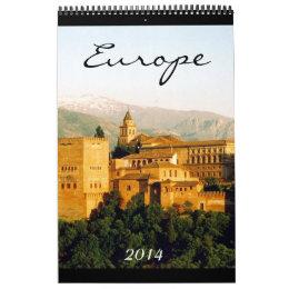 europe photography 2014 calendar