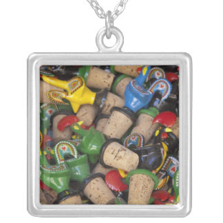 Europe, Portugal. Historic town of Sintra. 2 Silver Plated Necklace