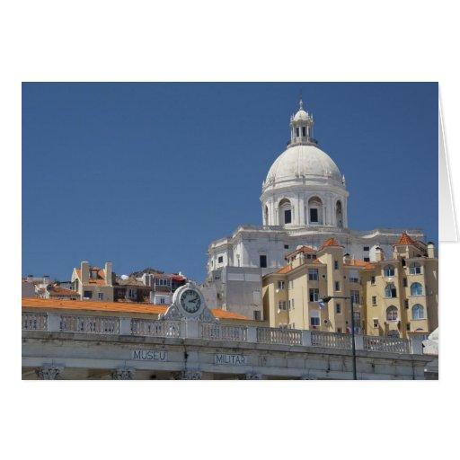 Europe, Portugal, Lisbon (aka Lisboa). Military Greeting Cards