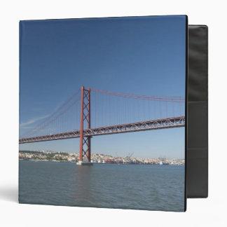 Europe, Portugal, Lisbon aka Lisboa). Ponte Binder