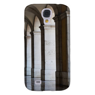 Europe, Portugal, Lisbon. Columns Of The Arcade Galaxy S4 Covers