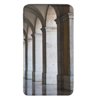 Europe, Portugal, Lisbon. Columns Of The Arcade Galaxy S5 Pouch