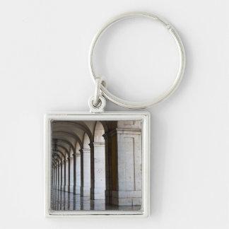 Europe, Portugal, Lisbon. Columns Of The Arcade Key Chains
