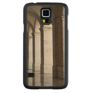 Europe, Portugal, Lisbon. Columns Of The Arcade Carved® Maple Galaxy S5 Case
