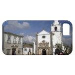 Europe, Portugal, Obidos. Santa Maria Church in iPhone SE/5/5s Case