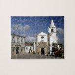 Europe, Portugal, Obidos. Santa Maria Church in Jigsaw Puzzle
