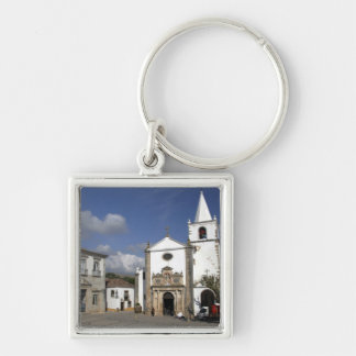 Europe, Portugal, Obidos. Santa Maria Church in Keychain