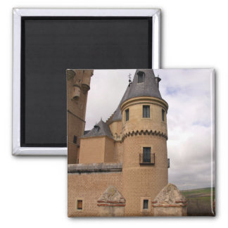 Europe, Portugal, Sintra. The Pena National 2 Inch Square Magnet