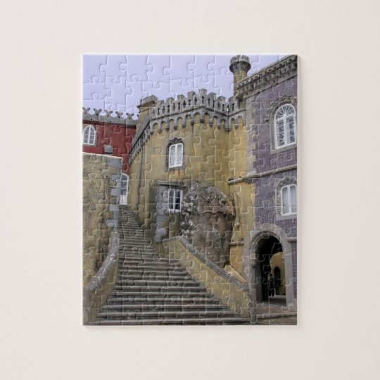 Europe, Portugal, Sintra. The Pena National 2 Jigsaw Puzzle