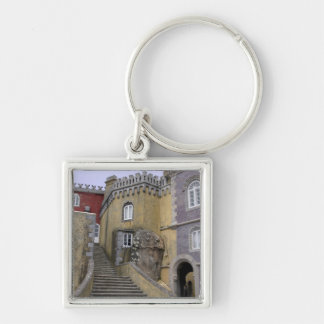 Europe, Portugal, Sintra. The Pena National 2 Keychain