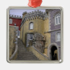 Europe, Portugal, Sintra. The Pena National 2 Metal Ornament